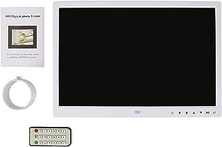 Socobeta Cornice per Foto digitali 15 Pollici 1280 * 800 HD Touch Screen Cornice per Foto Digitale Sveglia Lettore di Film...
