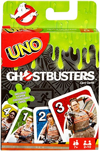 Mattel Games UNO Ghostbusters Edition