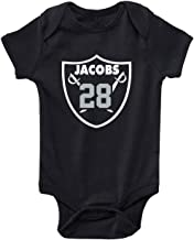 Shedd Shirts Black Oakland Jacobs Logo Baby 1 Piece