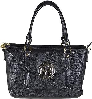 Amanda Mini' Satchel Handbag Black