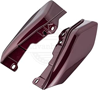 Twisted Cherry Mid-Frame Air Deflectors For 2009-2016 Harley Street Road Electra Glide