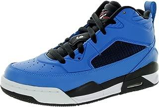 Nike Kids Flight 9.5 Bg Sport Blue/White/Black/Infrared 23 Basketball Shoe 6 Kids US