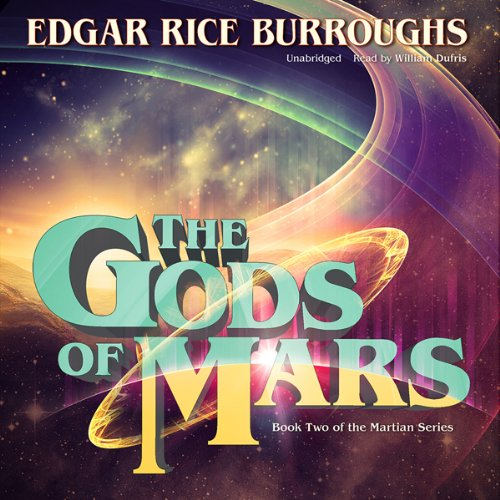 The Gods of Mars audiobook cover art