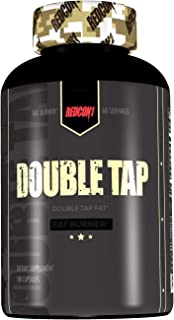 Redcon1 Double Tap Thermogenic Fat Burner (180, Capsules) 2 Month Supply, Larger Size