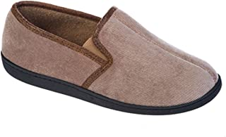 Mens Coolers Club Microsuede Slip-on Slipper Mules Soft and Warm UK 7-12