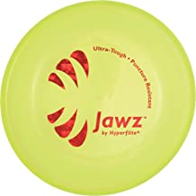 Hyperflite Jawz Pup World Toughest Competition Dog Disc Puncture Resistant Frisbee 7 Inch Lemon Lime