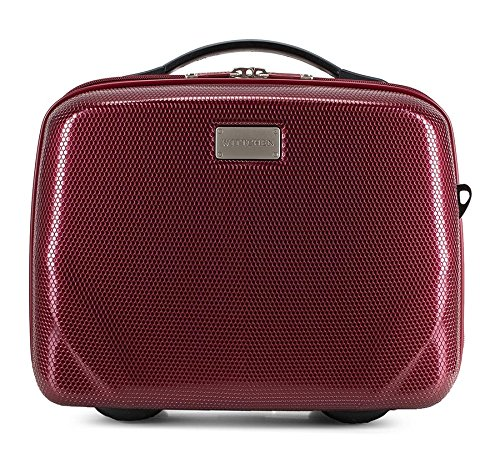 Wittchen 56-3P-575-35 Policarbon Cosmetic Bag 31 x 34 x 16 cm 1 kg 11 L Red