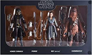"Hasbro Disneyland Star Wars Galaxy's Edge Black Series Smugglers Run 6"" Figure 4-Pack Theme Park Exclusive"