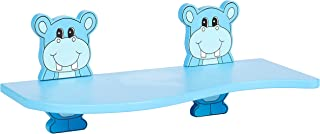 Cameltough - Kid Shelf With 2 Animal Brackets-Blue Color - HTC-CT243