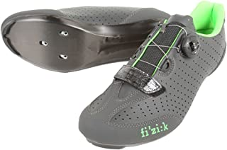 Fi'zi:k R3 Uomo Boa Shoes - Men's Anthracite Green Fluo, 42.5 EU, 8 3/4 US