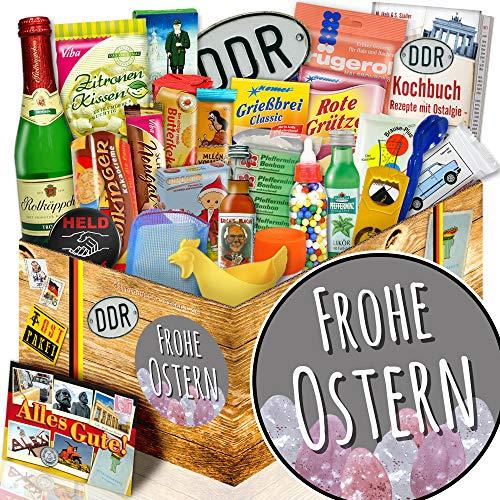 Frohe Ostern + 24tlg. DDR Geschenkset + Ideen für Ostergeschenke