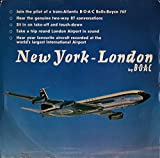 New York - London By B.O.A.C, 7'