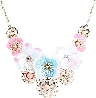Best flower bib necklaces Reviews