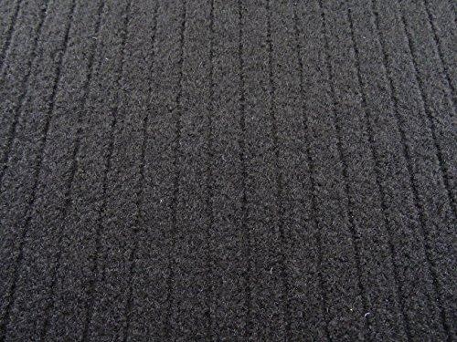 Autoteppich zur Auskleidung, Meterware in beliebiger Größe - Qualität Tigra schwarz (1m x 2m Breite)