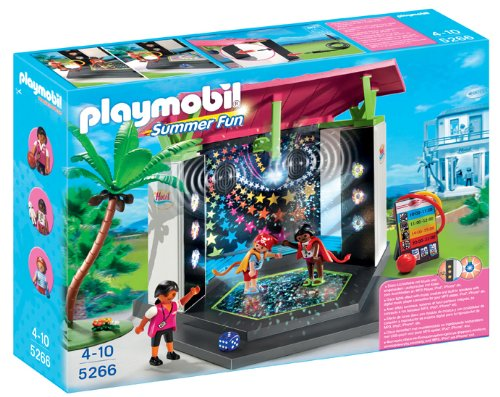 Playmobil - 5266 - Jeu de Construction - Club Enfants avec Piste de Danse