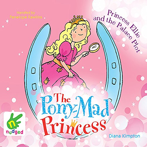 Princess Ellie and the Palace Plot audiobook cover art