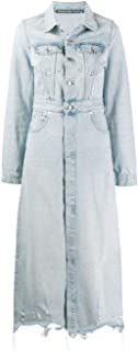 Alexander Wang Luxury Fashion Womens 4DC2192475108 Light Blue Coat   Fall Winter 19