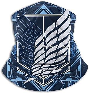 هجوم على تيتان ريكون كورب شعار رسم قناع الوجه باندانا للغبار، في الهواء الطلق، المهرجانات، الرياضة