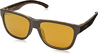 Smith Rectangle Sunglasses for Unisex - Yellow Lens
