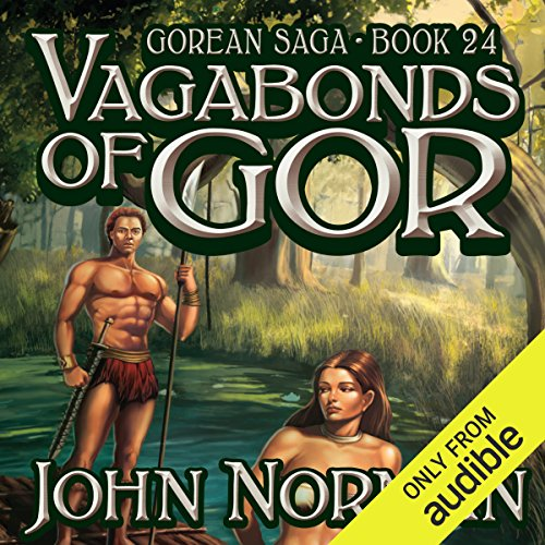 Vagabonds of Gor audiobook cover art