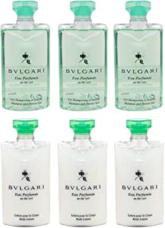 Bvlgari Green Tea (au the vert) Shower Gel and Body Lotion 3 of Each