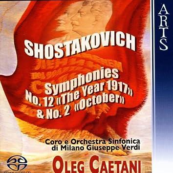 Shostakovich: Symphonies No. 12, Op. 112 & No. 2, Op. 14