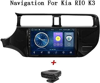 Kia RIO K3 2012-2016 GPSナビゲーション用のAndroid 8.1車のDVDマルチメディアプレーヤー9インチタッチディスプレイカーステレオラジオレコーダーサポートスクリーンミラーWiFi Bluetooth BT