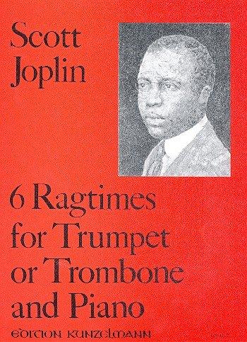 6 Ragtimes: für Trompete (Posaune) und Klavier