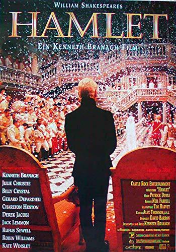 Hamlet - Kenneth Branagh - Kate Winslet - Filmposter 37x53cm gerollt