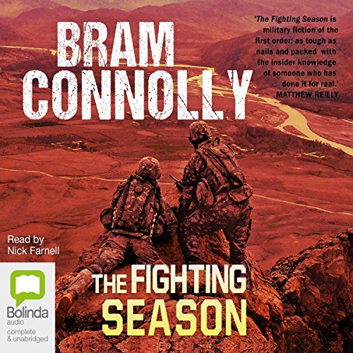 The Fighting Season audiobook cover art