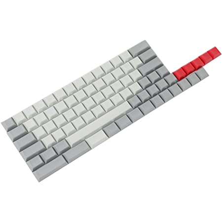 YMDK DSA Profile Blank 61 64 68 ANSI Keyset Thick PBT Keycap Set for Cherry MX Mechanical Keyboard GH60 XD64 GK64 Tada68(Only Keycap)