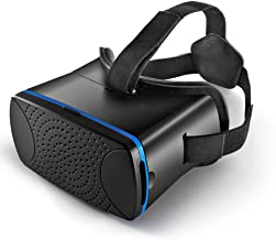 TNP 3D VR Virtual Reality Headset Glasses Video Movies Games Viewing Gear with Adjustable Head Strap Fit for iPhone iOS & Google Android Mobile Smartphone Devices with 3.5 - 6 inches Display