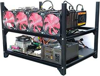 Best crypto coin open air mining frame rig Reviews