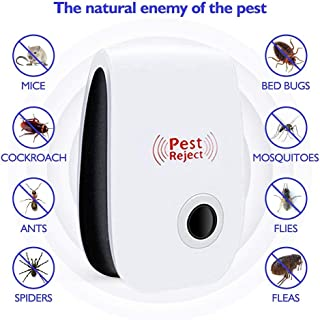 yuye-xthriv Ultrasonic Electronic Pest Mosquitos Bug Cockroachs Insect Repeller Control US Plug^