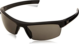 Under Armour Stride Sungl, Black/Gray Lens, one size