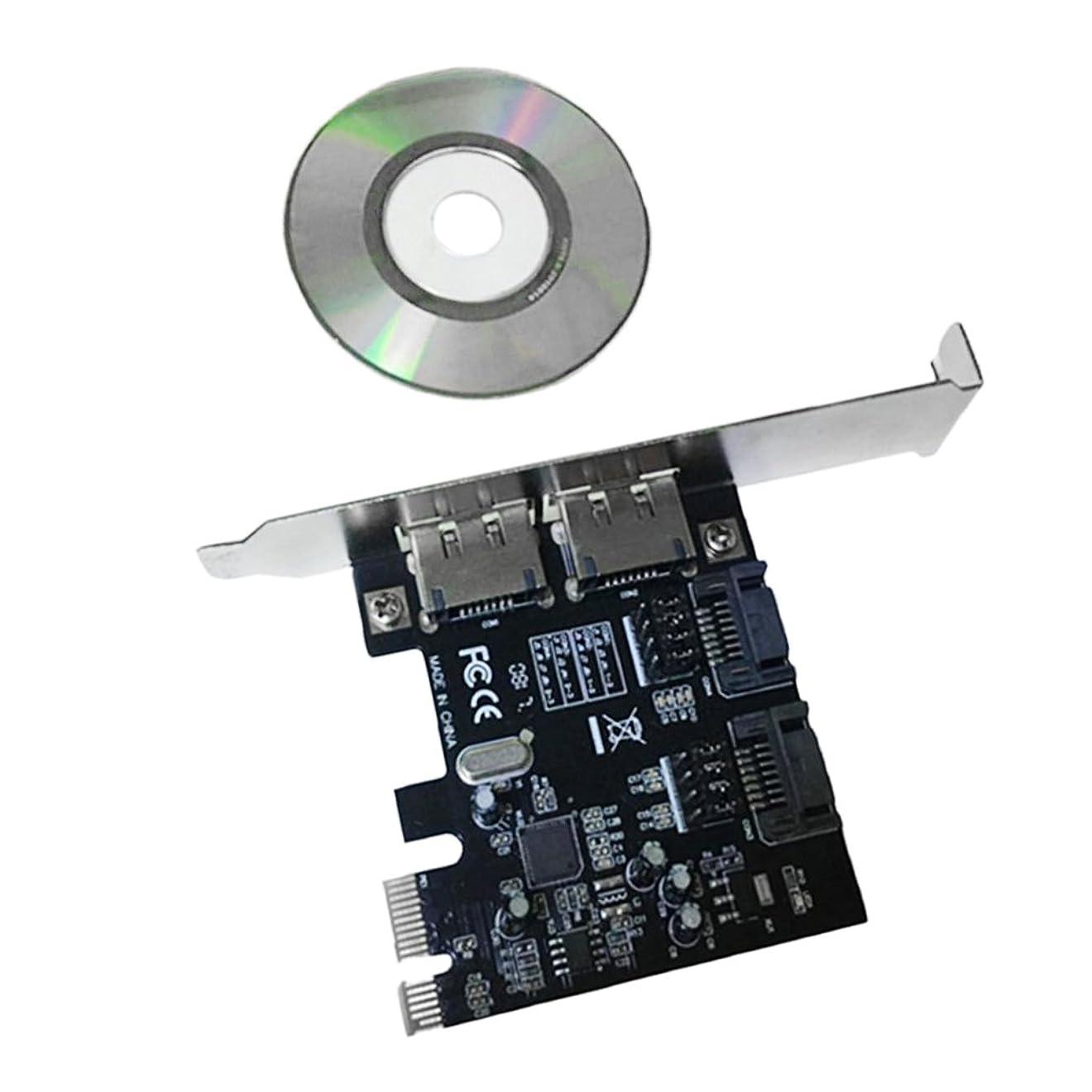 オーバードロー差別する透けて見えるhomyl 6?GB / sディスクUSB 3.0?PCI - E拡張カード2ポート拡張ボードwith for sata3.0