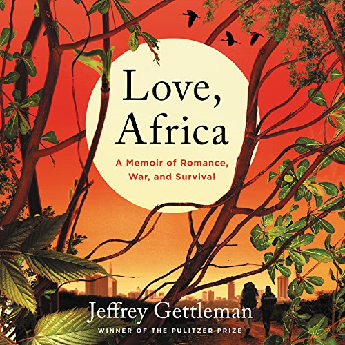 Love, Africa audiobook cover art