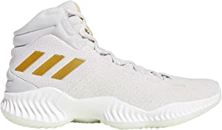 adidas Performance Mens Pro Bounce 2018 Basketball Shoes White - 14US