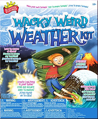 Scientific Explorer Wacky Weather | how to become a meteorologist | Weather for Kids