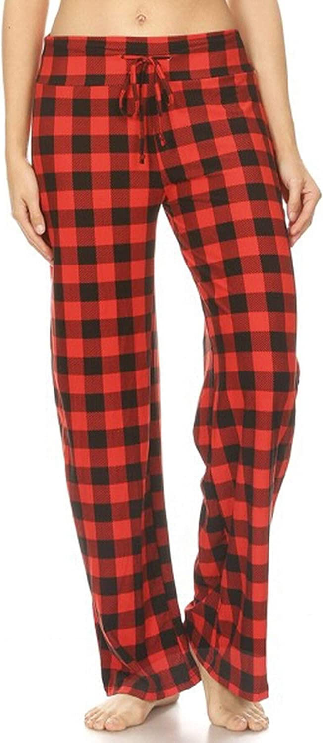 Women's Buttery Soft Casual Comfy Wide Pajama S Factory outlet Lounge Max 70% OFF Pants Leg