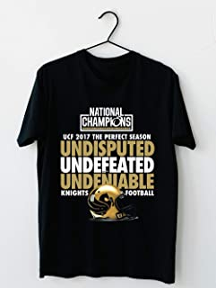 UCF 2017 National Champions-Undefeated Shirt