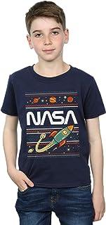 Absolute Cult NASA Niños Fair Isle Camiseta