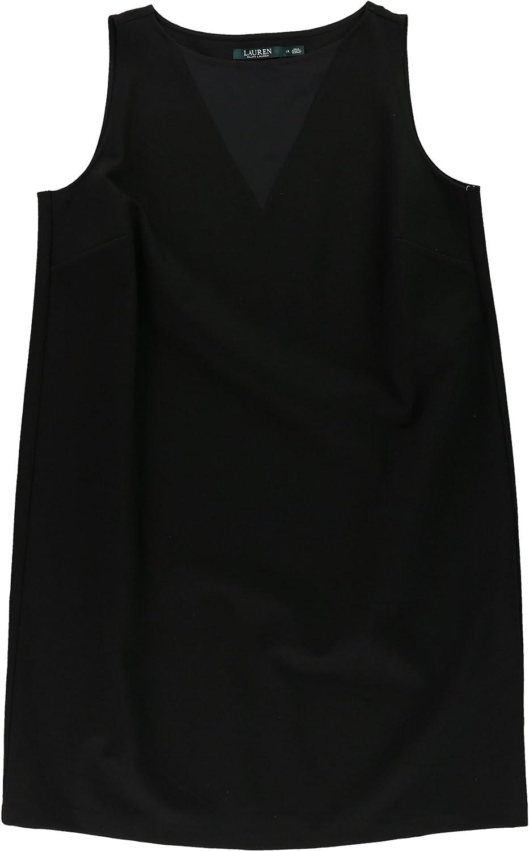 Ralph Lauren Womens Ponte Sheath Dress
