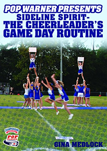Price comparison product image Championship Productions Pop Warner Presents Sideline Spirit - The Cheerleader's Game Day Routine DVD