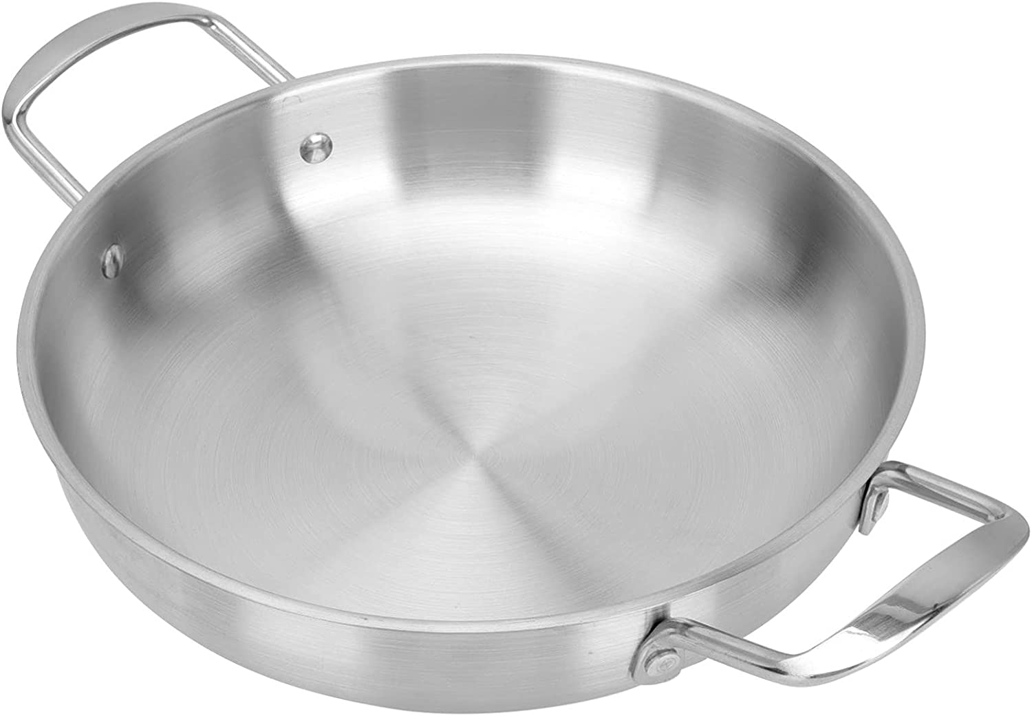 Cabilock 2021new shipping free shipping Steel Low price Skillet Stir- Fry and Stainless Pan Paella
