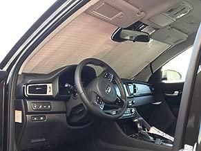 AutoTech Zone Sun Shade for 2017-2018 Hyundai Ioniq Sedan Custom-fit Windshield Sun Shade
