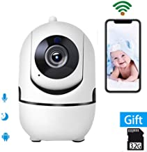 Smart 1080P HD IP Camera Auto Tracking WiFi Home Security Surveillance Camera,Remote Baby Monitor,Pet Camera,Two Way Audio Wireless Night Vision Dome Camera with Cloud Storage iOS Android App
