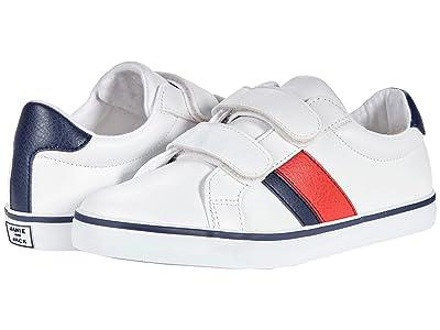 Janie and Jack White Stripe Sneaker (Toddler/Little Kid/Big Kid)