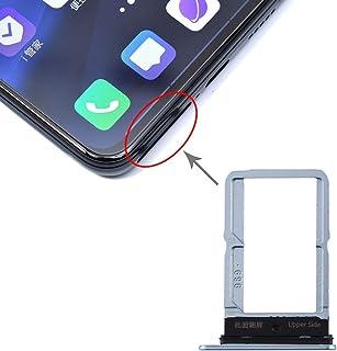 BMSD Vivo S5のためのAYDD SIMカードトレイ+ SIMカードトレイ (Color : Grey)