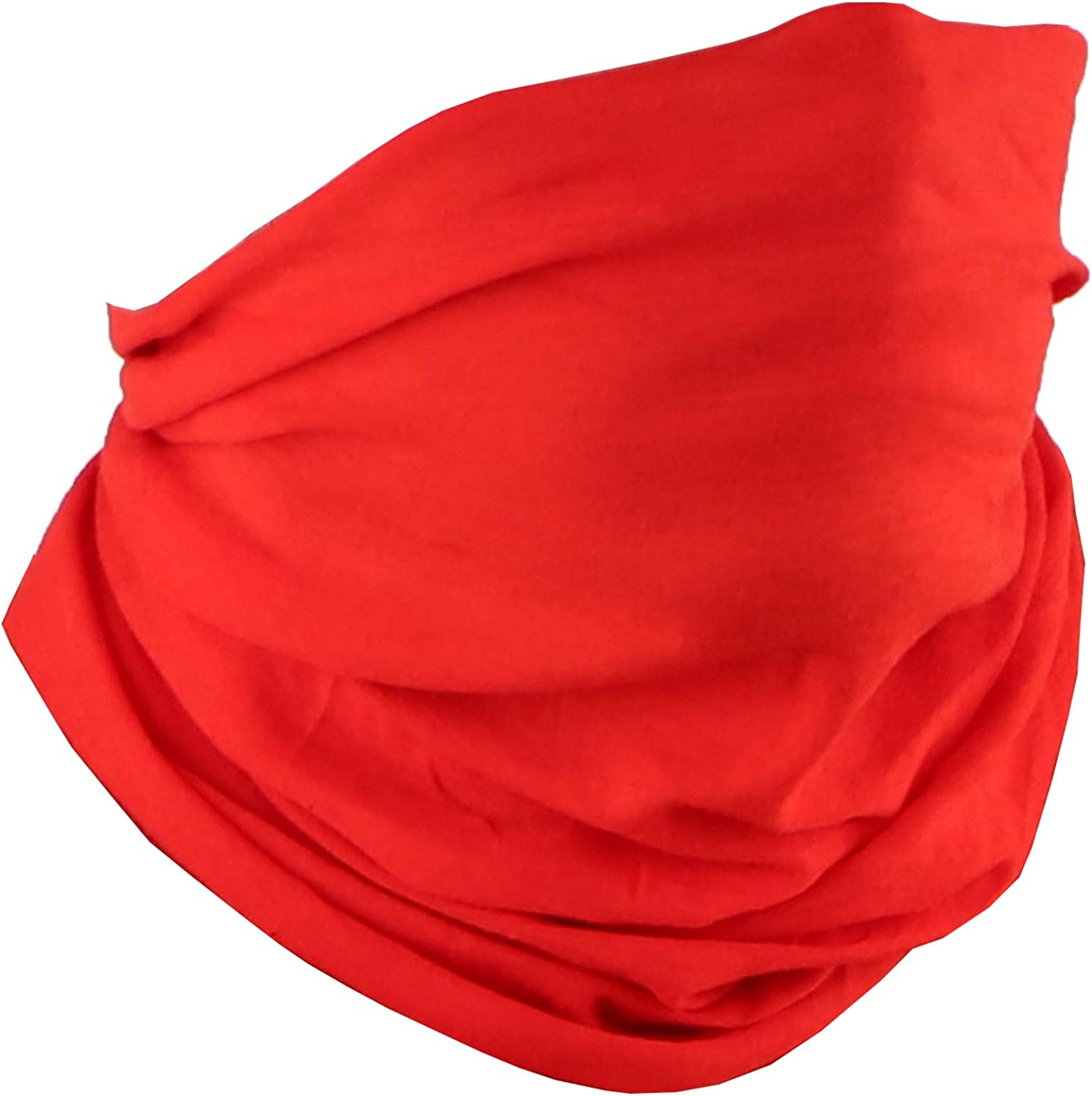 Motique Accessories Solid Seamless Gaiter Tucson Mall Tube Bandana At the price Neck